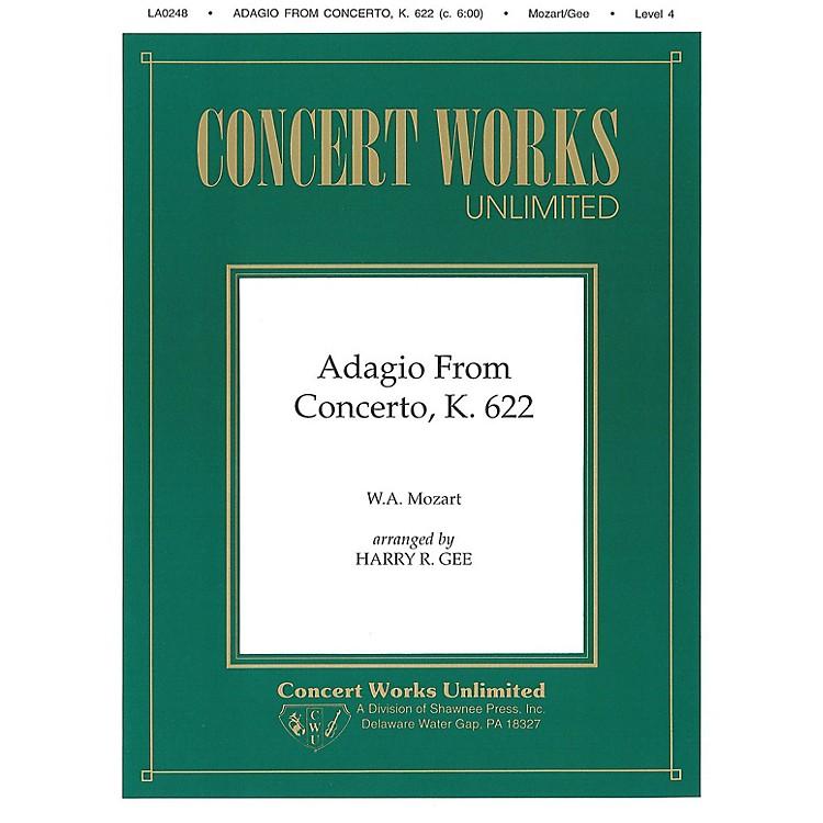 Hal LeonardAdagio from Concerto, K. 622 Clarinet/Piano Clarinet Arranged by Harry Gee