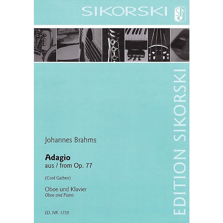 SikorskiAdagio from Op 77 (Oboe and Piano) Woodwind Series