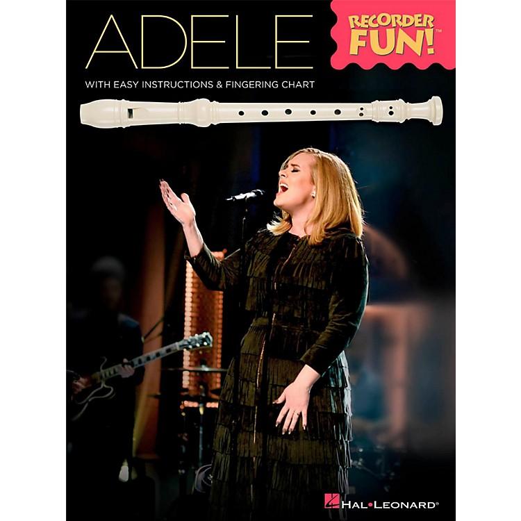 Hal LeonardAdele - Recorder Fun! Songbook