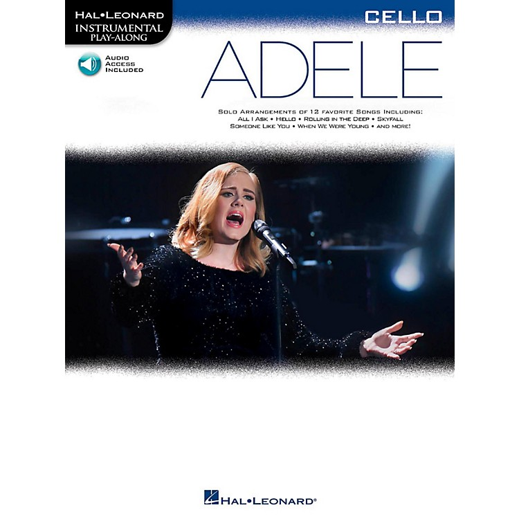 Hal Leonard Adele For Cello - Instrumental Play-Along Book/Online Audio