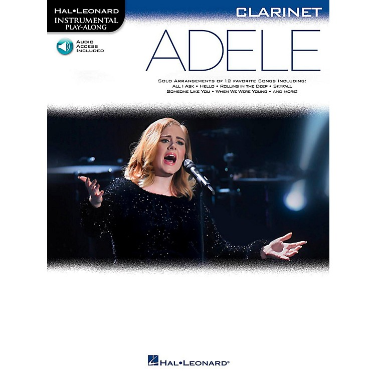 Hal LeonardAdele For Clarinet - Instrumental Play-Along Book/Online Audio