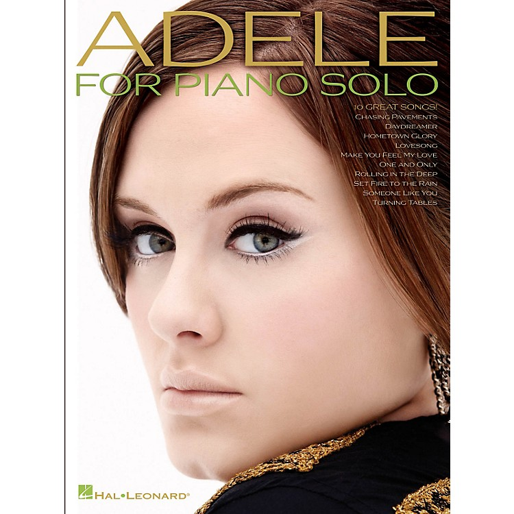 Hal LeonardAdele For Piano Solo