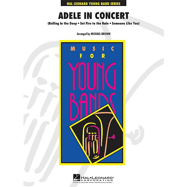 Hal LeonardAdele In Concert - Young Band Series Level 3