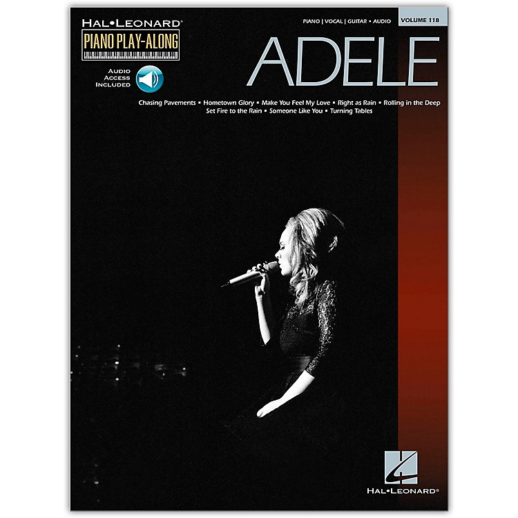 Hal LeonardAdele Piano Play-Along Volume 118 (Book/Online Audio)