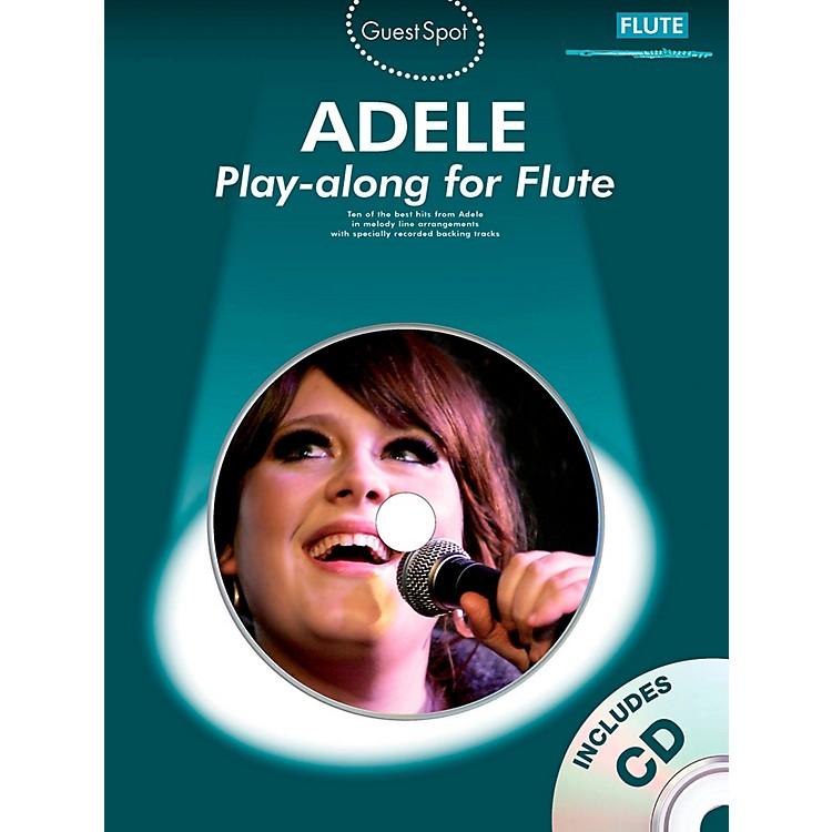 Music SalesAdele Play-along for Flute (Book/CD)
