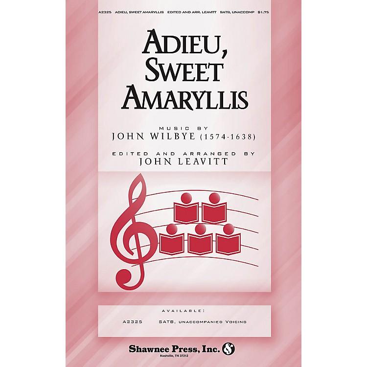 Shawnee PressAdieu, Sweet Amaryllis SATB a cappella arranged by John Leavitt
