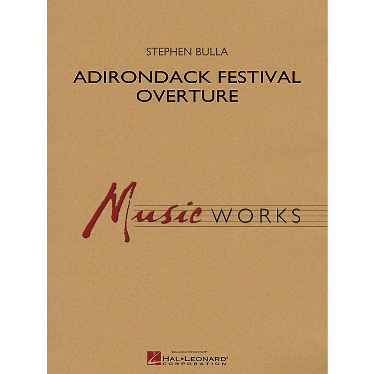 Hal LeonardAdirondack Festival Overture Concert Band Level 4 Composed by Stephen Bulla