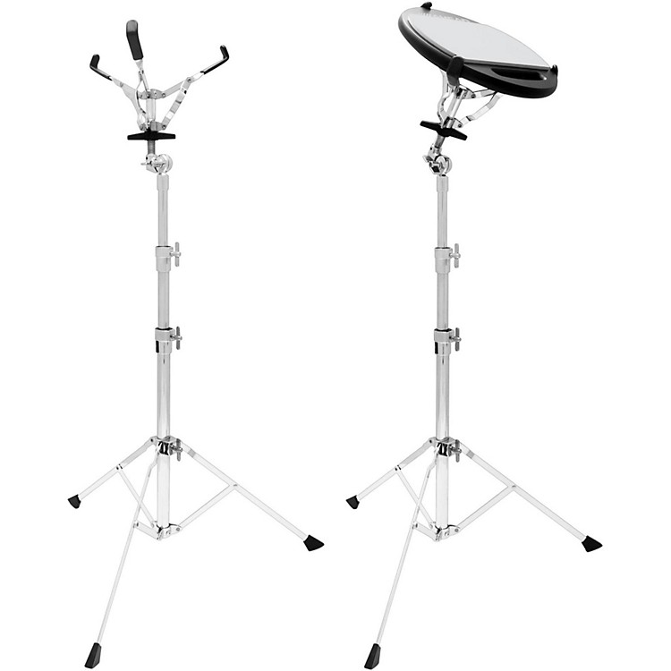 AheadAdjustable Practice Pad Stand with Basket