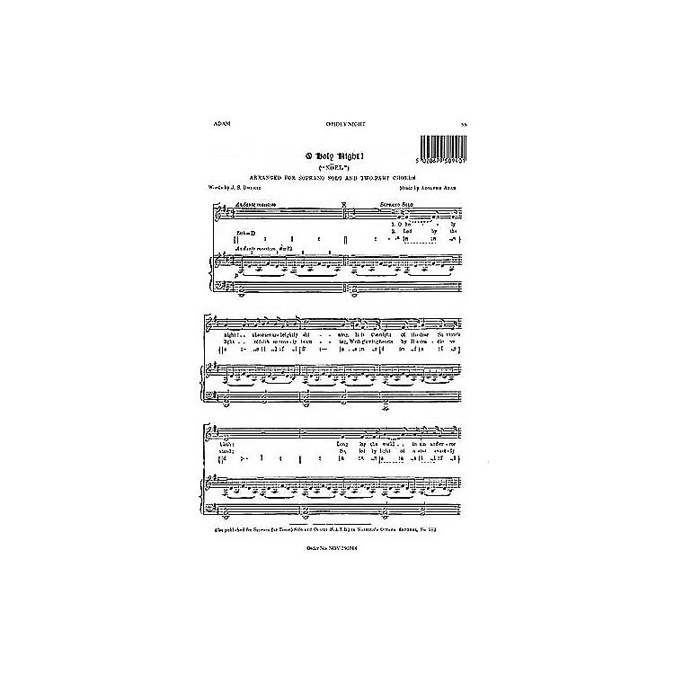 Music SalesAdolphe Adam: O Holy Night (Soprano Solo) Music Sales America Series