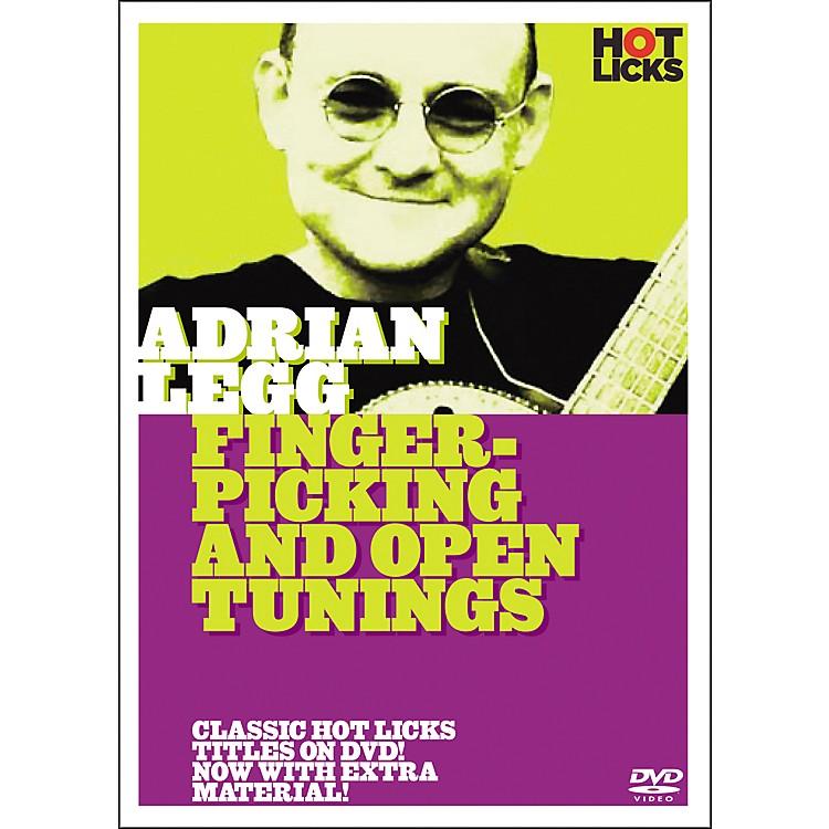 Hot LicksAdrian Legg: Fingerpicking and Open Tunings DVD