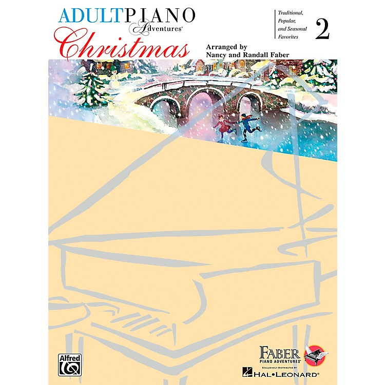Faber Piano AdventuresAdult Piano Adventures - Christmas Book 2