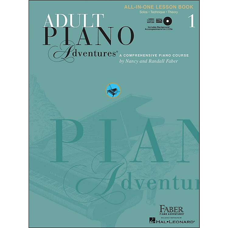 Faber Piano Adventures Adult Piano Adventures Book 1 Book/CD's