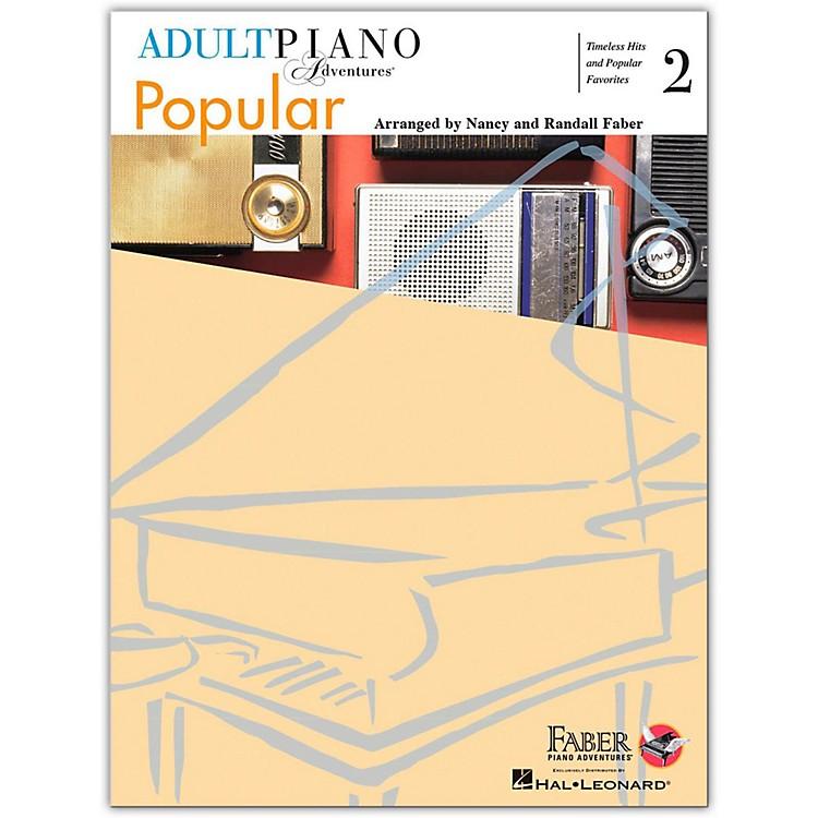 Faber Piano AdventuresAdult Piano Adventures Popular Book 2 - Faber Piano Adventure