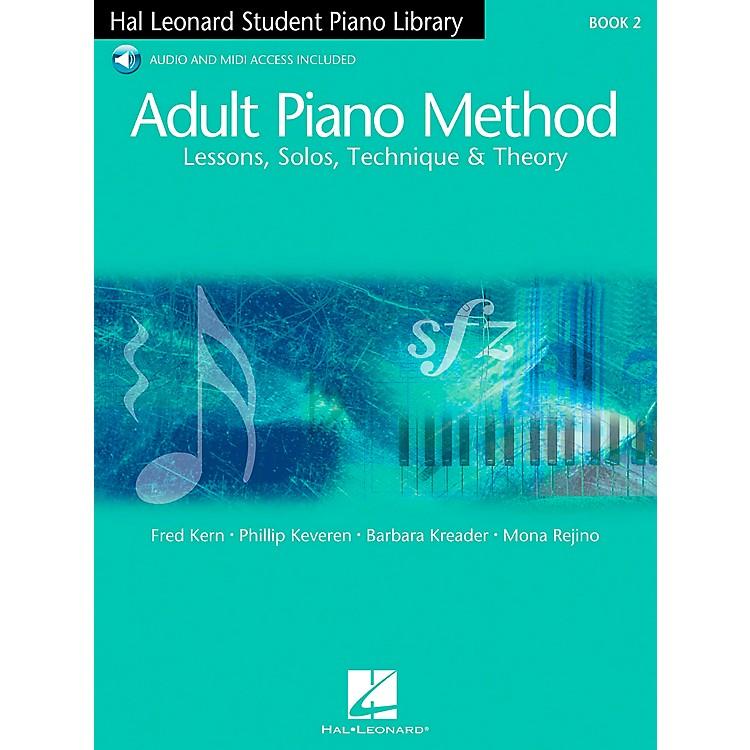 Hal LeonardAdult Piano Method Book 2 Book/2Online Audios Hal Leonard Student Piano Library