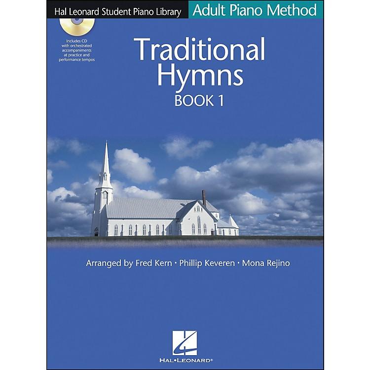 Hal LeonardAdult Piano Method Traditional Hymns Book 1 Book/CD Hal Leonard Student Piano Library