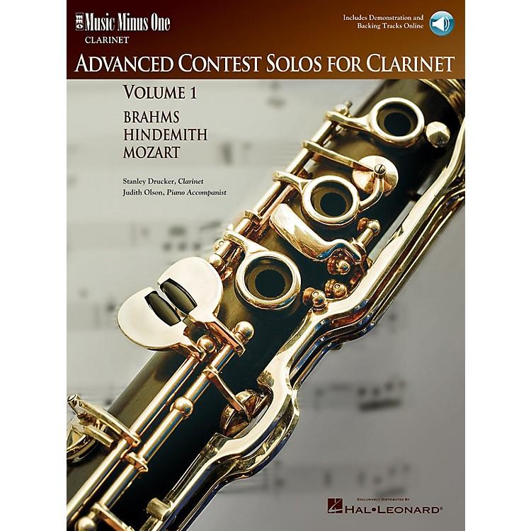Music Minus OneAdvanced Clarinet Solos - Volume I Music Minus One Series BK/CD Performed by Stanley Drucker