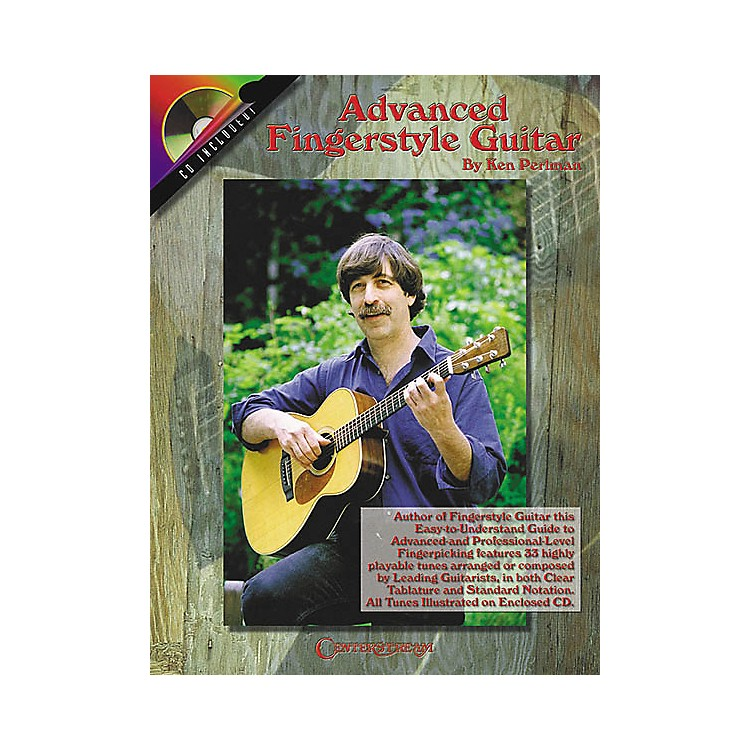 Centerstream Publishing Advanced Fingerstyle Guitar (Book/CD)