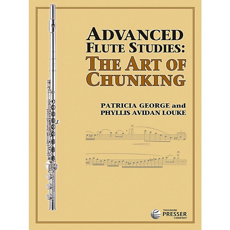 Carl FischerAdvanced Flute Studies: The Art of Chunking Book
