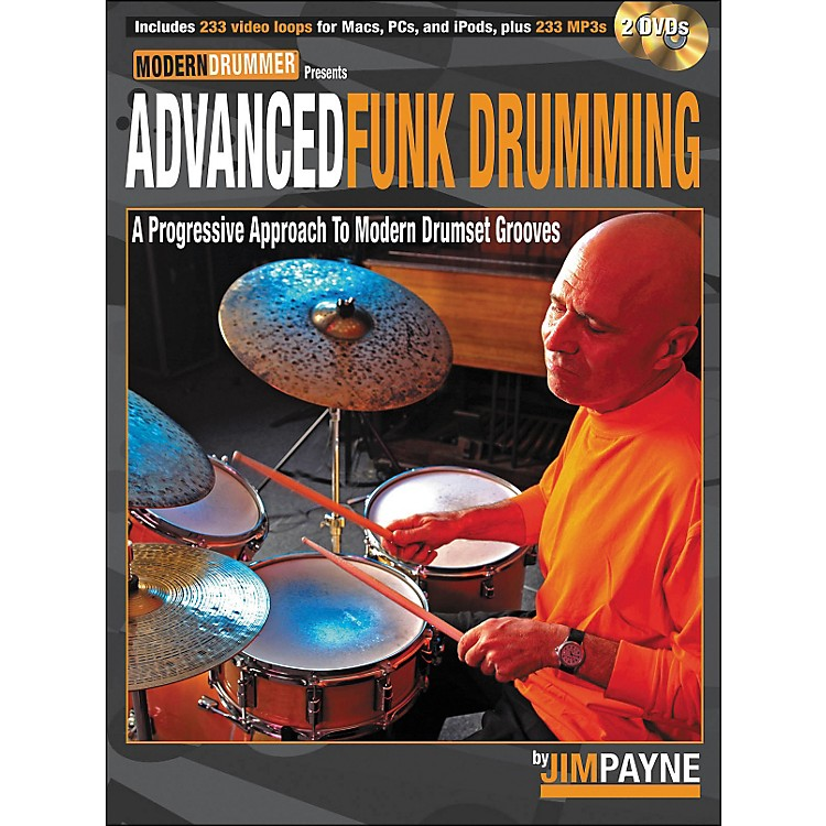 Hal Leonard Advanced Funk Drumming Book/2DVD Set