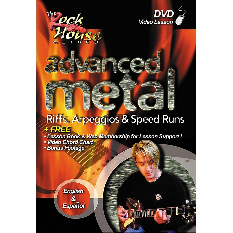 Hal Leonard Advanced Metal - Riffs, Arpeggios and Speed Runs DVD