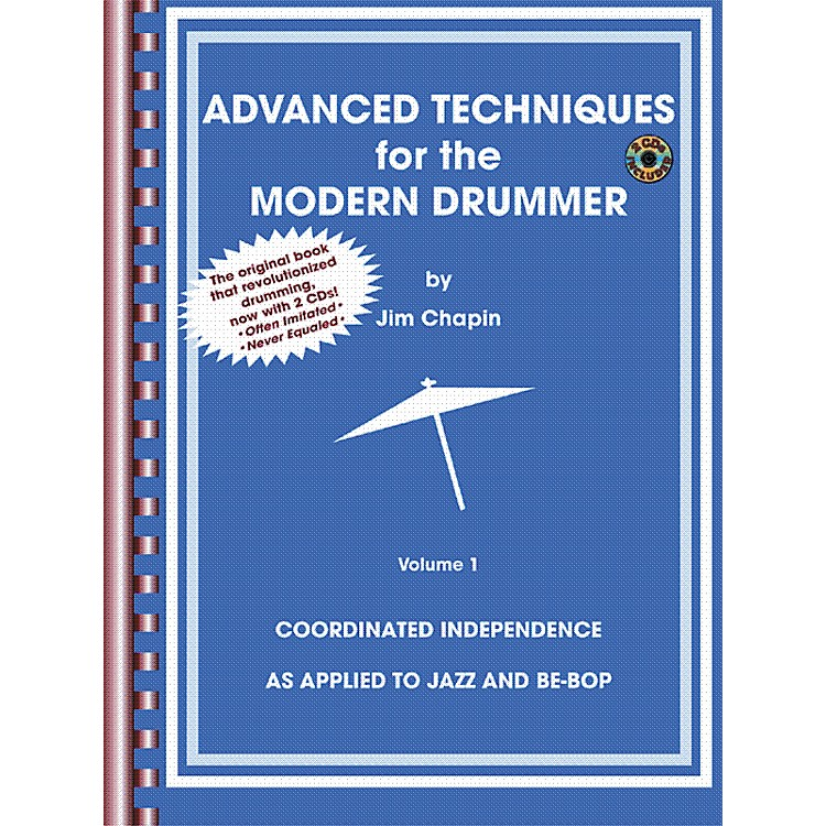 AlfredAdvanced Techniques for the Modern Drummer Book and 2-CD Set