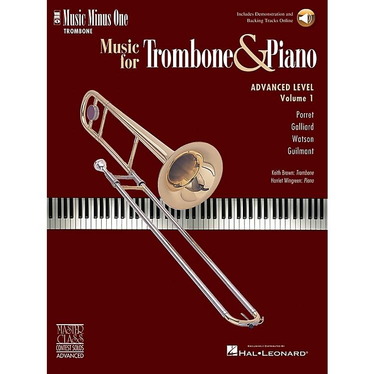 Music Minus OneAdvanced Trombone Solos, Volume 1 (for Trombone) Music Minus One Series Softcover with CD