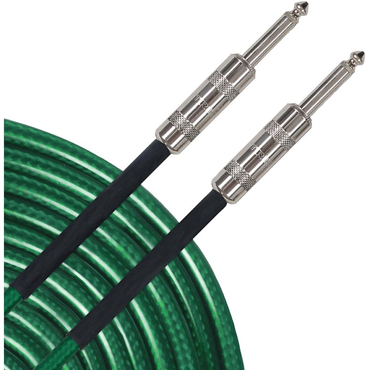 Livewire Advantage AIXG Instrument Cable Green 10 ft. Green