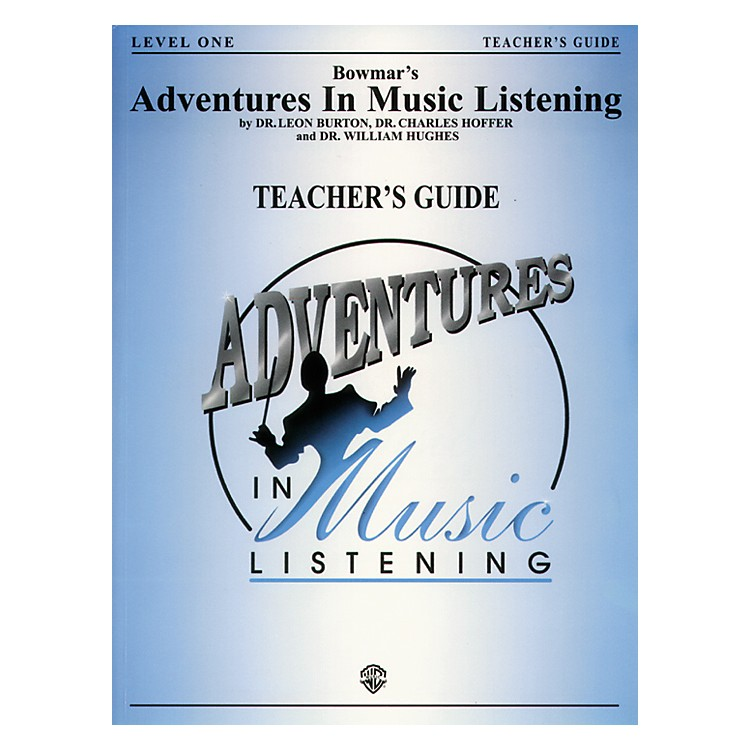 AlfredAdventures In Music Listening Level One Teacher Guide/CD
