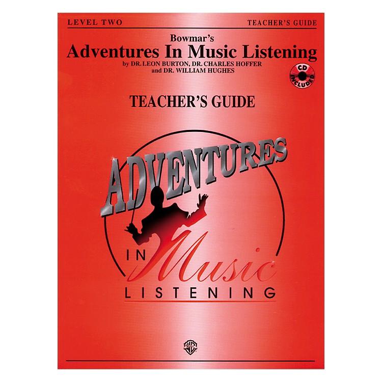 AlfredAdventures In Music Listening Level Two Teacher's Guide/CD