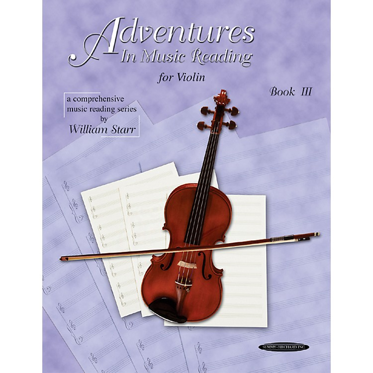 AlfredAdventures in Music Reading for Violin Book III