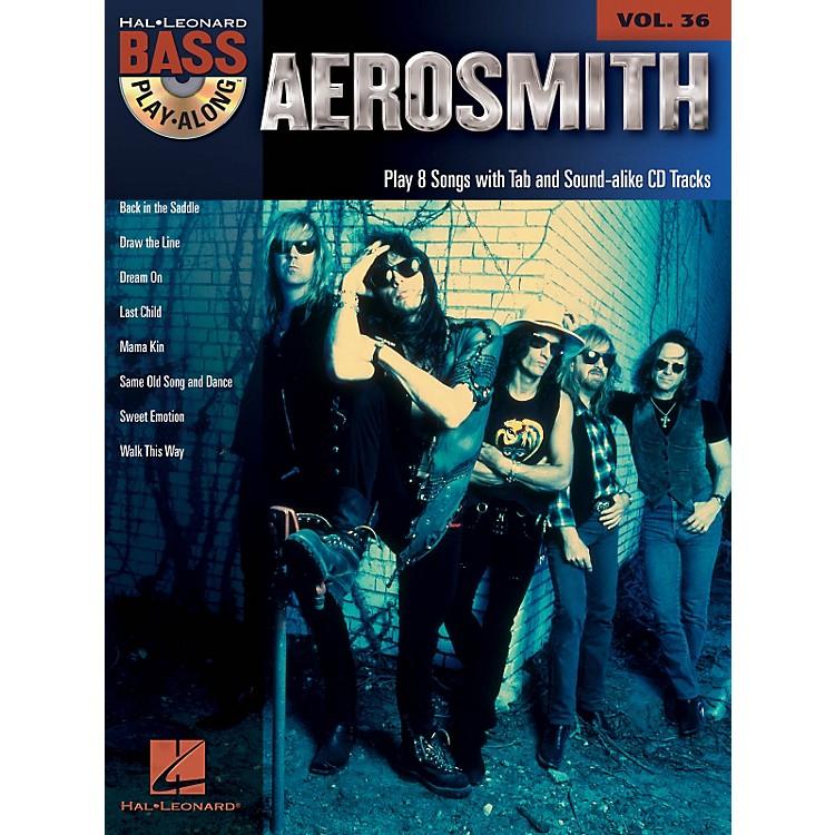 Hal LeonardAerosmith - Bass Play-Along Volume 36 Book/CD