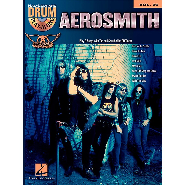 Hal Leonard Aerosmith - Drum Play-Along Volume 26 Book/CD