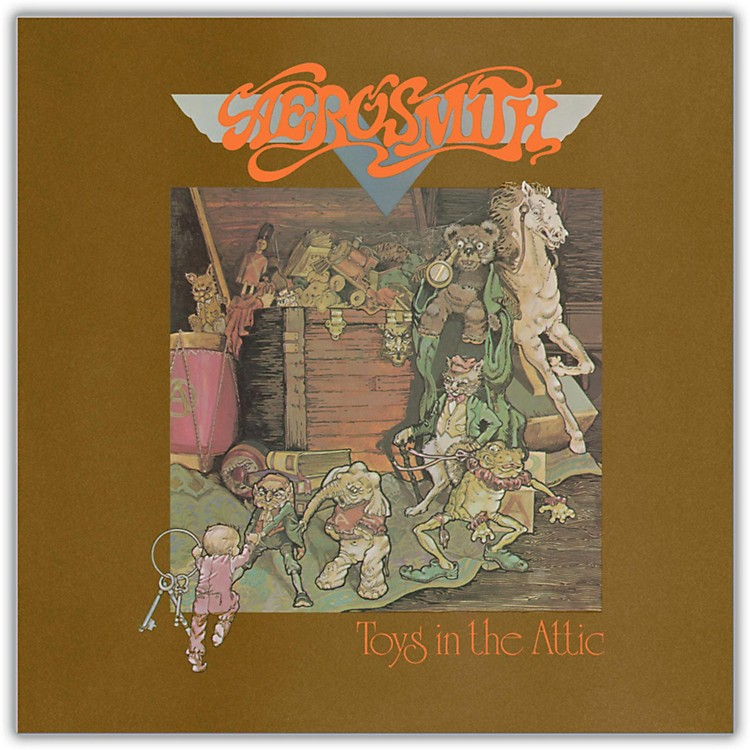 SonyAerosmith - Toys in the Attic Vinyl LP