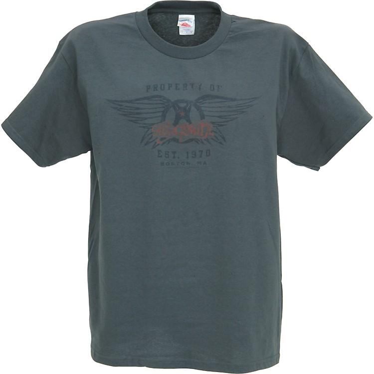 Gear OneAerosmith Athletic Logo Men's T-ShirtCharcoalMedium