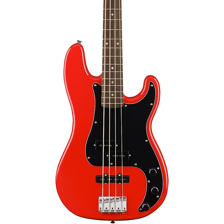 SquierAffinity Precision Bass PJRace Red