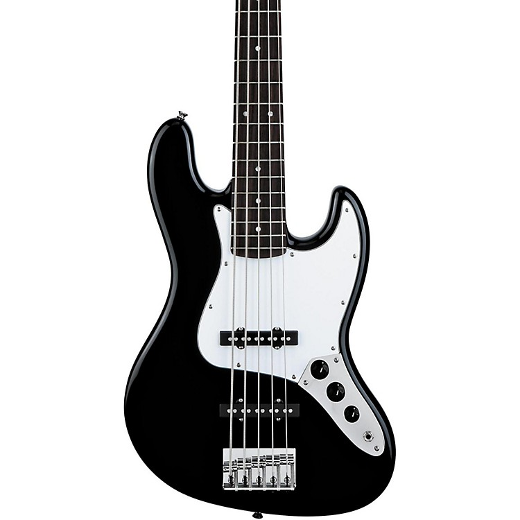 Squier Affinity Series 5-String Jazz Bass V Black