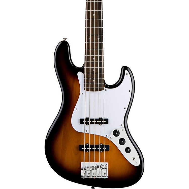 SquierAffinity Series 5-String Jazz Bass VBrown Sunburst