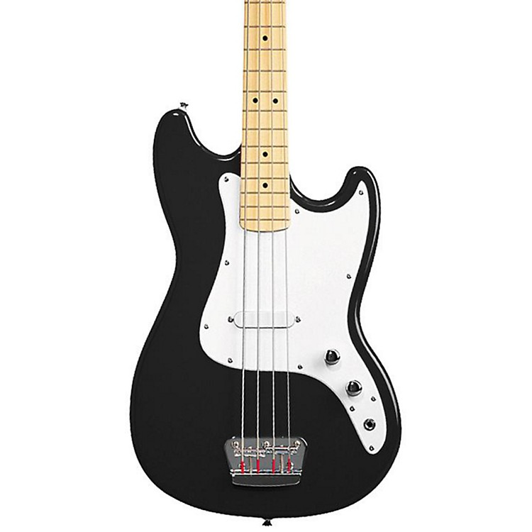Squier Affinity Series Bronco Bass Guitar Black 886830611209