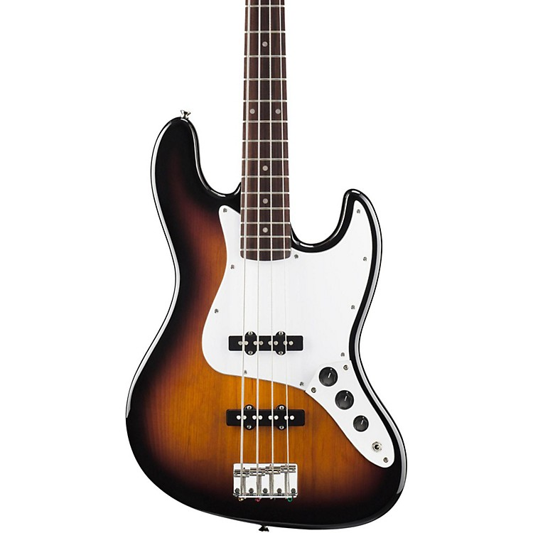 Squier Affinity Series Jazz Bass Electric Bass Guitar Brown Sunburst