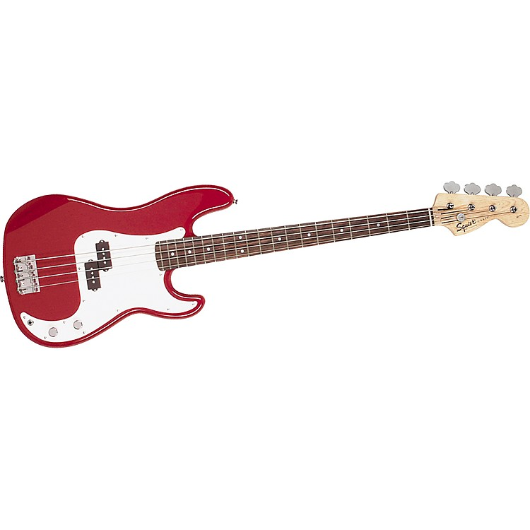 Squier Affinity Series P Bass Metallic Red