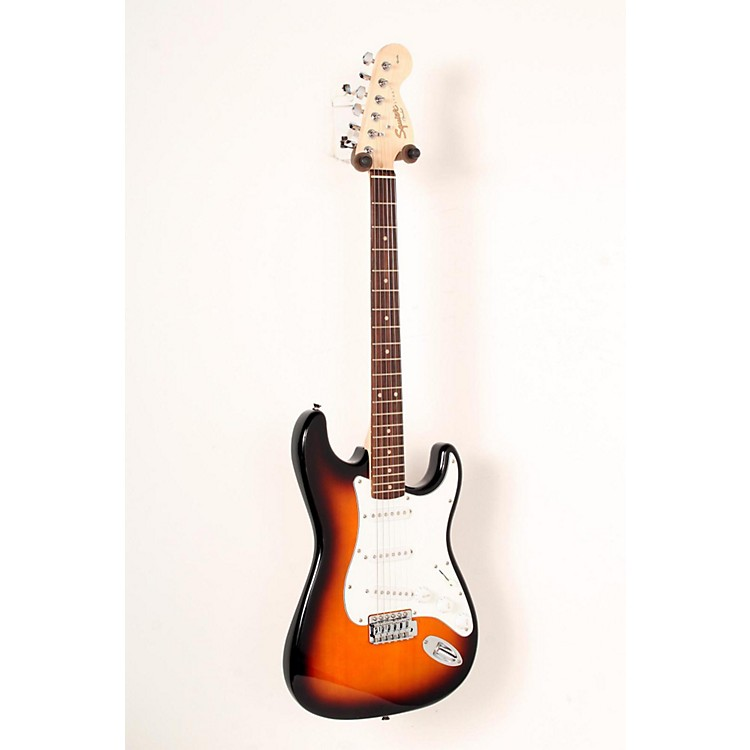 Squier Affinity Series Stratocaster Electric Guitar Brown Sunburst, Rosewood Fretboard 888365827803