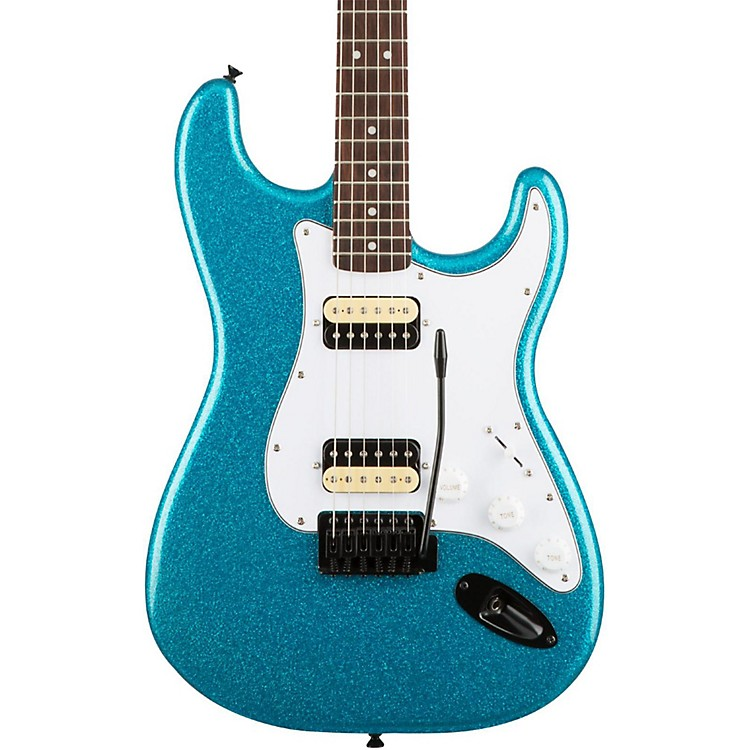 SquierAffinity Series Stratocaster HH with Tremolo Electric GuitarCandy Blue