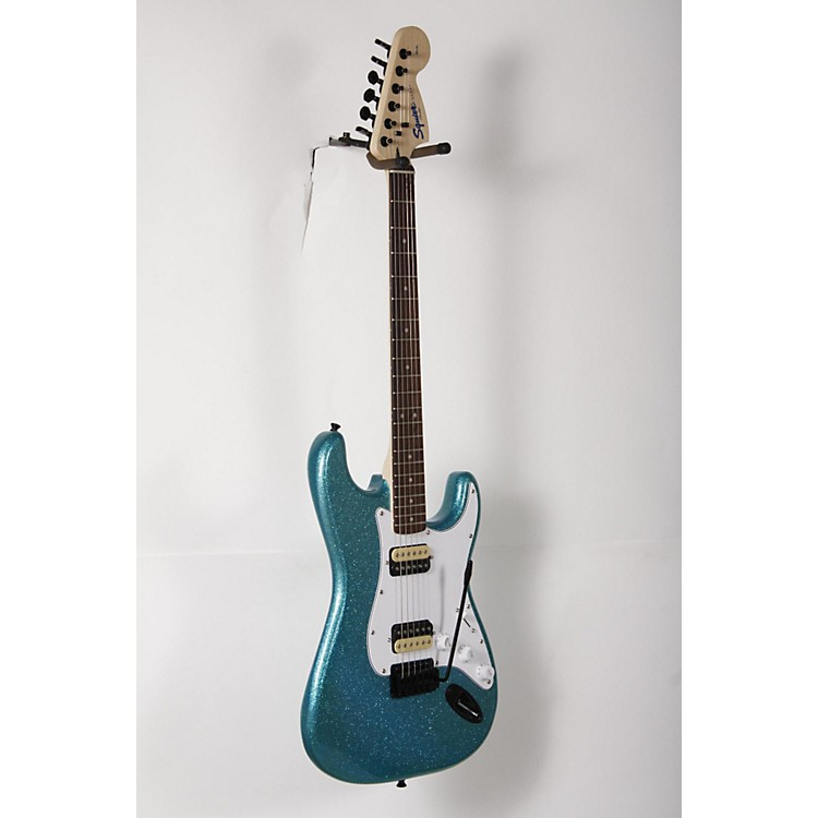 SquierAffinity Series Stratocaster HH with Tremolo Electric GuitarCandy Blue888365905822
