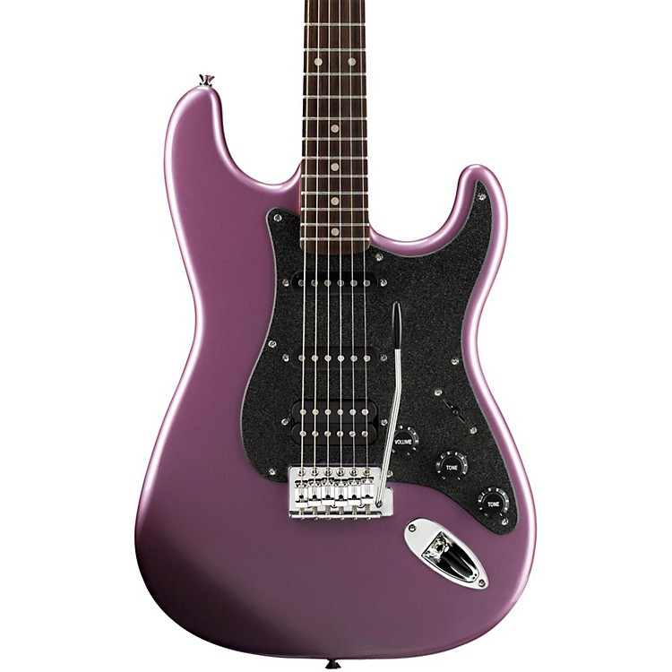 SquierAffinity Series Stratocaster HSS Electric Guitar with Rosewood FingerboardBurgundy MistRosewood Fingerboard