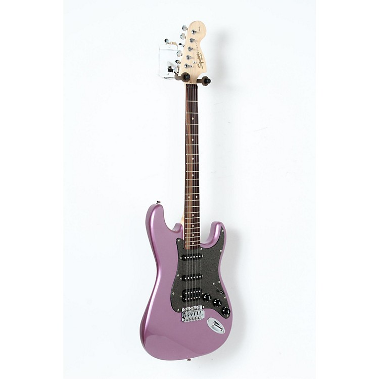 Squier Affinity Series Stratocaster HSS Electric Guitar with Rosewood Fingerboard Burgundy Mist, Rosewood Fingerboard 888365894188