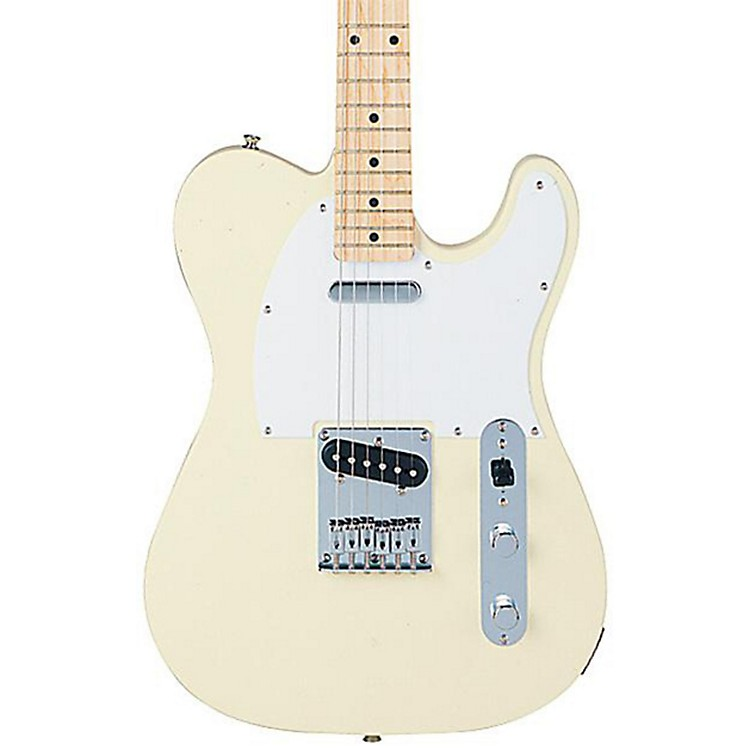 Squier Affinity Series Telecaster Electric Guitar Arctic White Maple Fretboard