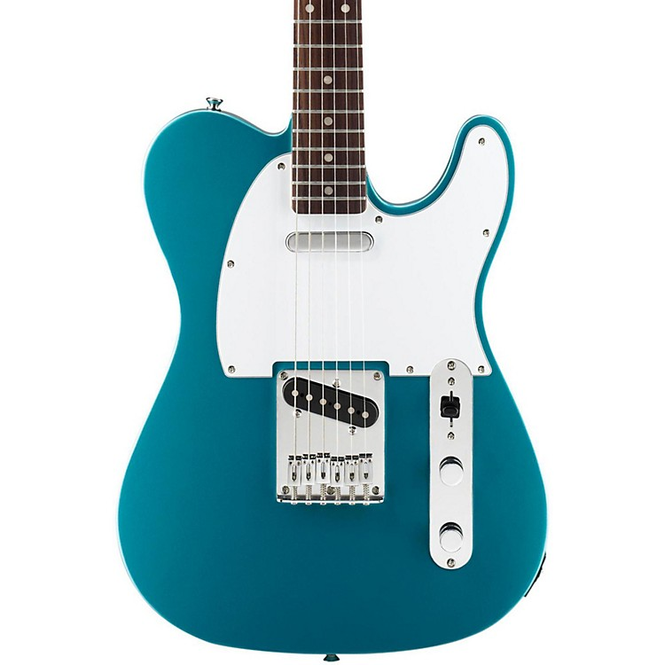 Squier Affinity Series Telecaster, Rosewood Fingerboard Lake Placid Blue Rosewood Fingerboard