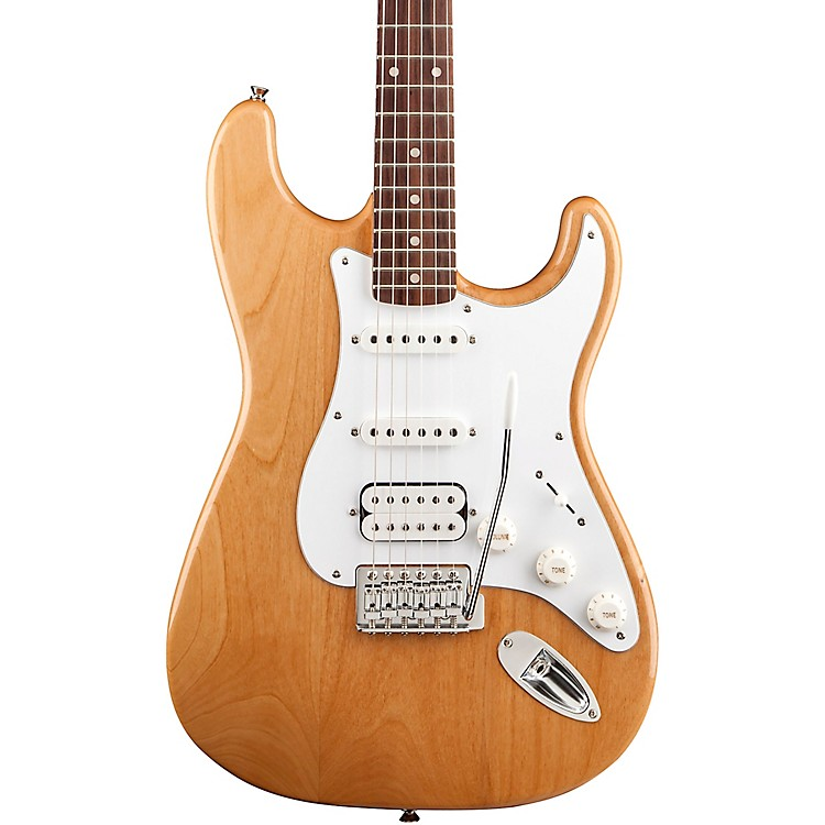 Squier Affinity Stratocaster HSS Limited Edition Electric Guitar Natural