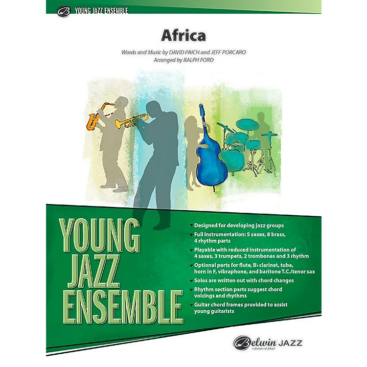 BELWIN Africa Jazz Ensemble Grade 2 (Medium Easy)