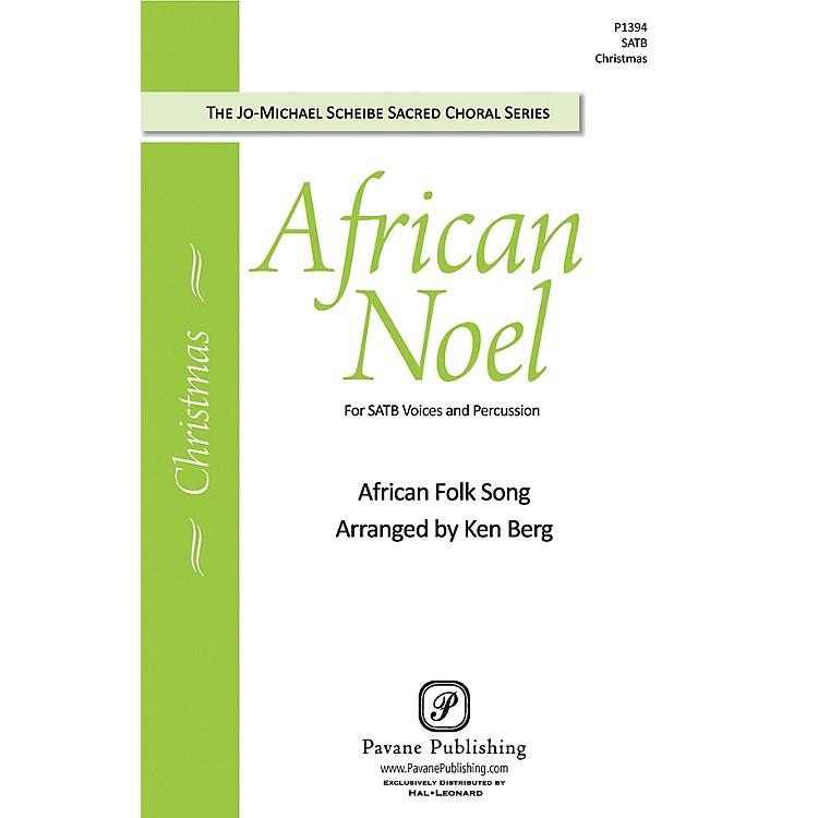 PavaneAfrican Noel SATB arranged by Ken Berg